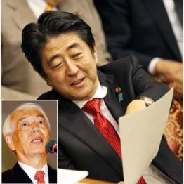 NHKの松本会長もアングリだ/(C)日刊ゲンダイ