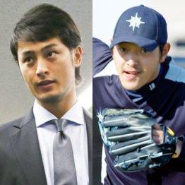 最終候補で競ったダルと岩隈/(C)日刊ゲンダイ