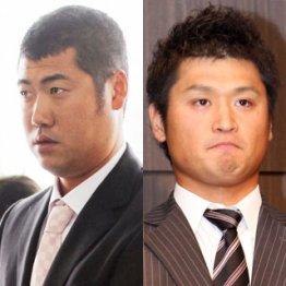 左:広島 大竹、右:中日 中田/(C)日刊ゲンダイ