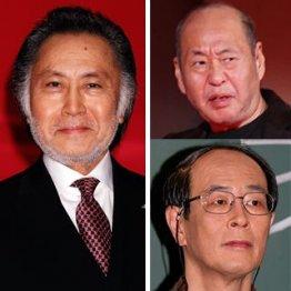 (左)北大路欣也(右上)泉谷しげる(右下)志賀廣太郎/(C)日刊ゲンダイ