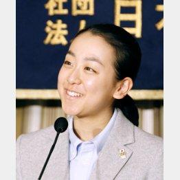 外国特派員協会で会見/(C)日刊ゲンダイ