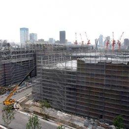 建設現場は人手不足(写真はイメージ)