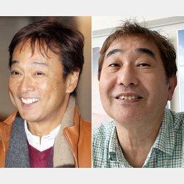太川陽介(左)と蛭子能収/(C)日刊ゲンダイ