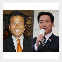 パソナの南部代表(左)/(C)日刊ゲンダイ