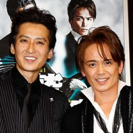大沢樹生(左)、諸星和己(右)/(C)日刊ゲンダイ