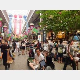 駅前平和通り商店街/(C)日刊ゲンダイ