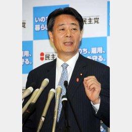 海江田代表は保身人事に走ったか/(C)日刊ゲンダイ