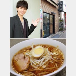 王道メニュー「中華麺」/(C)日刊ゲンダイ