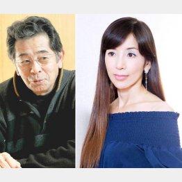ドラマ「失楽園」で共演した2人/(C)日刊ゲンダイ