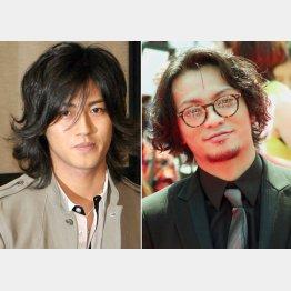 ジャニーズを去った赤西仁(左)と田中聖