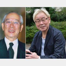 横澤彪さん(左)は2011年に逝去/(C)日刊ゲンダイ