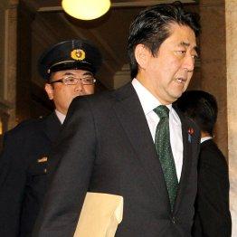 安倍首相は平静を装うが心中は…/(C)日刊ゲンダイ