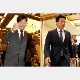 成瀬(左)と大引/(C)日刊ゲンダイ