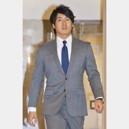 「盗塁王を狙う」と来季の抱負を語った片岡/(C)日刊ゲンダイ
