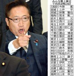 渡辺前代表も落選危機/(C)日刊ゲンダイ