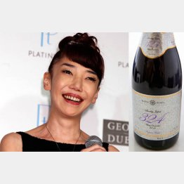 1本4980円ワインをプロデュース/(C)日刊ゲンダイ