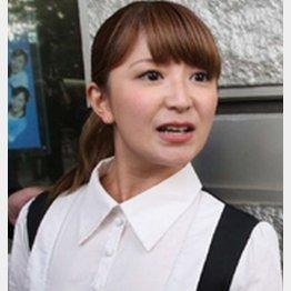 """番組では""""肉食系女子""""発言を連発/(C)日刊ゲンダイ"""