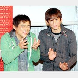 ビートたけしに「老舗の味」と評価された博多華丸・大吉/(C)日刊ゲンダイ