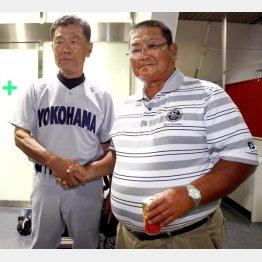 渡辺(左)なくして野球部は成り立たない/(C)日刊ゲンダイ