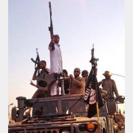 """イスラム国には世界中から""""志願者""""が後を絶たない/(C)AP"""