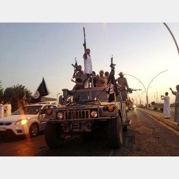 イスラム国の兵士ら/(C)AP