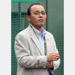 2003年から2008年まで阪神の監督を務めた岡田氏 (C)日刊ゲンダイ