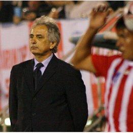 08年キリンカップでコートジボワール監督としてパラグアイと対戦