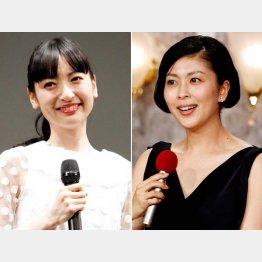 神田沙也加(左)と松たか子も再登板?