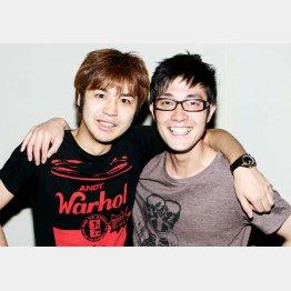 森田悟(左)と大和一孝