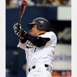 中島は六回に二塁打を放ったが…