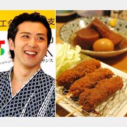 1番人気は「味噌串カツ」