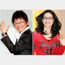 哀川翔(左)やイーオン社長の長女アンジェラ・アキも徳島出身