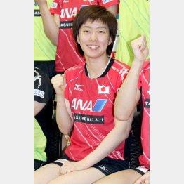 女子世界ランク5位の石川佳純