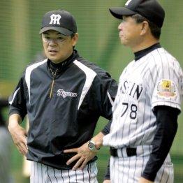 和田監督(左)と平田ヘッドコーチ