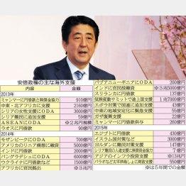 「島サミット」で550億円をポン!(C)日刊ゲンダイ