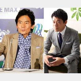 今井雅之さん(左)と長谷川豊