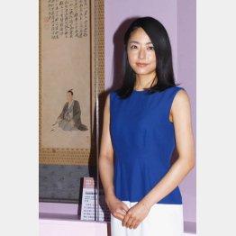 江戸東京博物館「花燃ゆ」特別展の開会式に出席