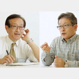 二木啓孝氏と江上剛氏