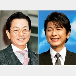 名コンビの水谷豊(左)と及川光博
