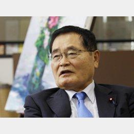 バリバリの改憲派の亀井静香衆院議員