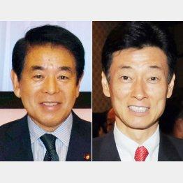 下村文科相と西村内閣府副大臣