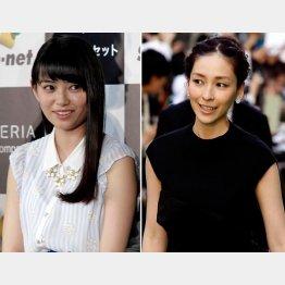 麻生久美子はザリガニ食い(左は滝口ひかり)