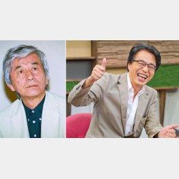 故・筑紫哲也氏(左)と山路徹氏