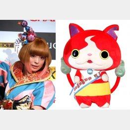 きゃりーぱみゅぱみゅ(左)とジバニャンも出演