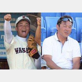 父親の清宮克幸氏(右)も自信たっぷり