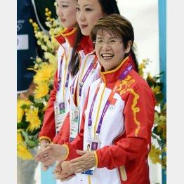 五輪では中国をメダルに率いた井村雅代氏(C)JMPA