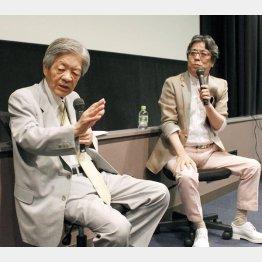 田原総一朗氏と小林よしのり氏