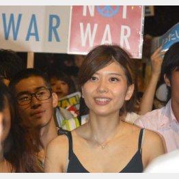 SEALDsの中心的メンバー・紅子さん