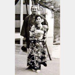 若嶋津との婚約発表(1985年)/