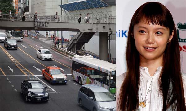 宮崎あおいさんが、東京・青山の近くで事故を起こした車両 ポルシェ「カイエン」だった